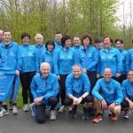 Die Laufgruppe des PSV